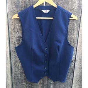 VTG 70s Levi's Fitted Vest, Big E